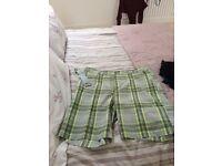 Men's Slazenger golf shorts