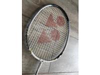 Yonex badminton racquet, new with cover