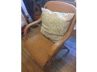 wicker chair - must go ASAP