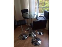 Barker and Stonehouse Breakfast Table & Stools (£160 ONO)