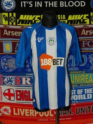 5/5 Wigan Athletic adults XL 2009 MINT football shirt jersey trikot soccer image