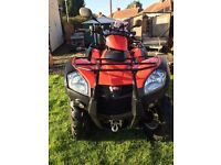 KYMCO MXU 500 Utility Quad Bike Road Legal with Winch LIKE HONDA QUADZILLA