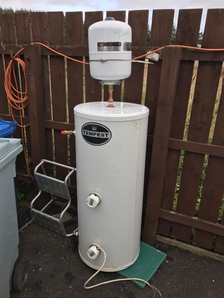 Stainless pressurised hot water cylinder. | in Lanark, South ...