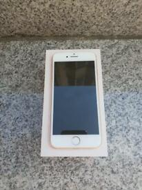 iPhone 8 Gold new condition