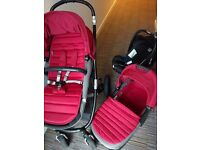 Britax Travel System - pram, carry cot, and car seat