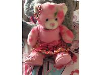 SPRING THEMED BUILD A BEAR WITH OUTFIT