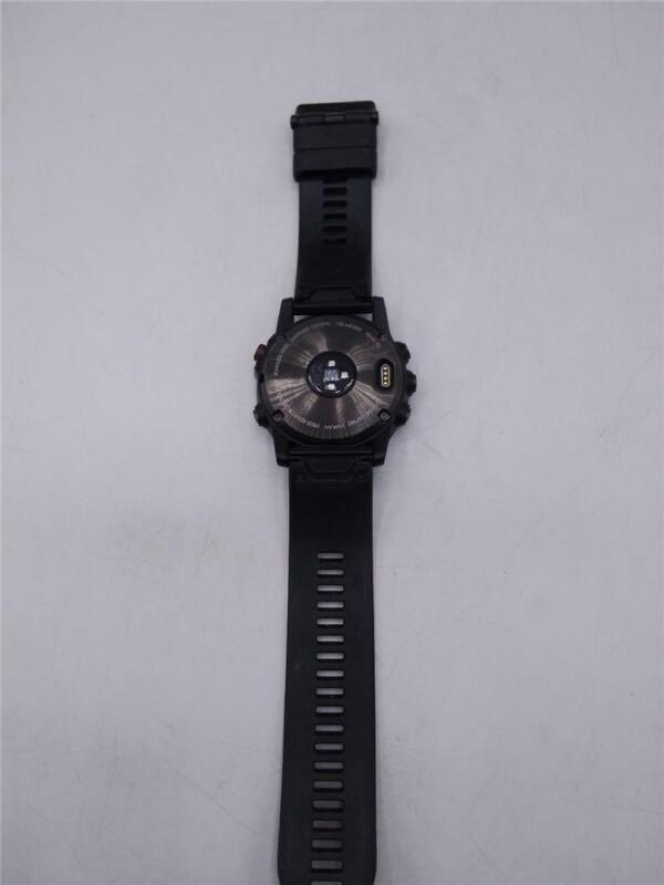 Garmin Fenix 5x 51mm Slate Gray Sapphire with Black Band GPS Watch