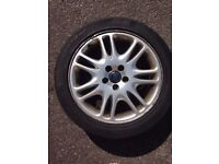 "17"" Volvo Alloy Wheel with New Tyre (x1)"