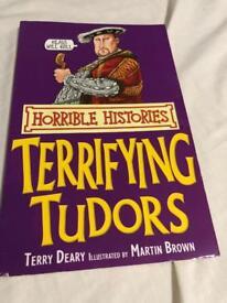 Horrible Histories - Terrifying Tudors Book