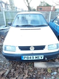 VW CADDY SELLING COMPLETE NEEDS NEW ENGINE