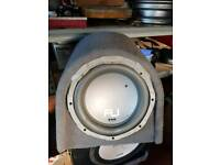 Bass boxes / subs