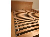 Ikea malm double bed -frame only