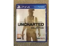 Uncharted Nathan Drake Collection PS4 game.