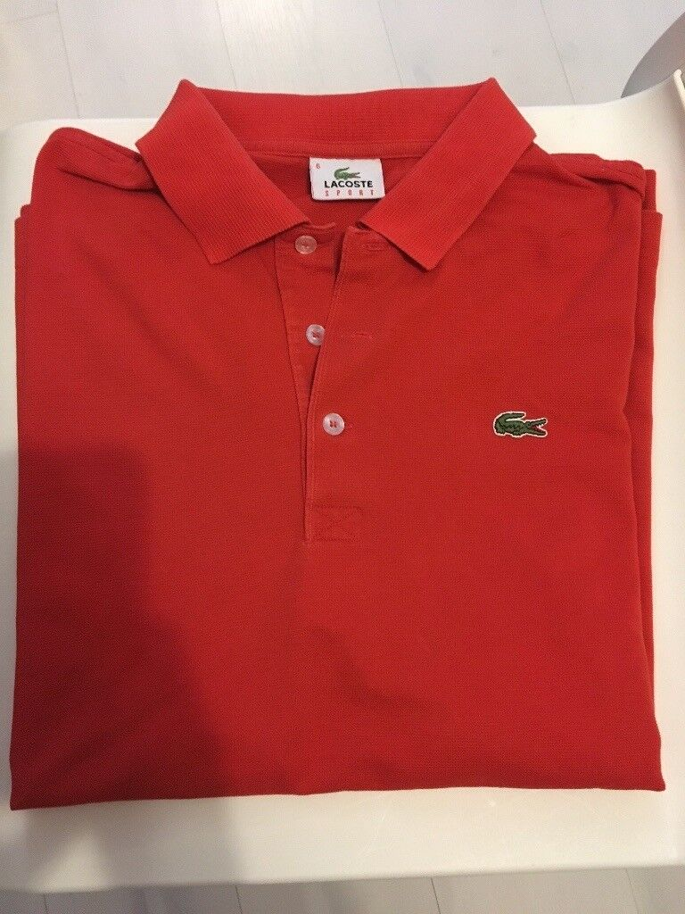 Mens Size 6 Lacoste Polo Shirt In Paisley Renfrewshire Gumtree