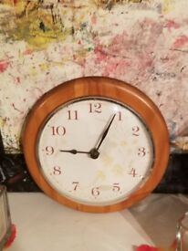 Hang-able Wooden Clock