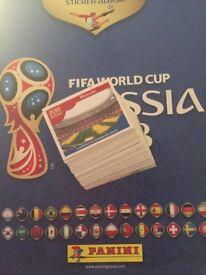 World Cup Panini football stickers