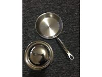 New Mauviel frying pan 20cm with lid