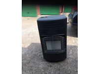 Black Gas Heater and 15kg Gas Cylinder included Excelent condition