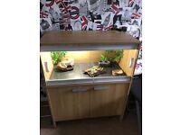 Viv Exotic Vivarium & Cabinet (Oak)