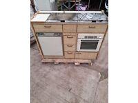 Caravan kitchen unit camper