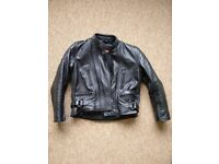 Children's Leather motorcycle jacket