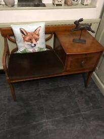Beautiful mini sofa/ hall chair/ window seat / telephone table .