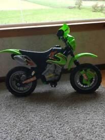 Kits battery powered motorbike