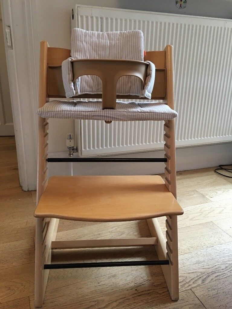 Tripp Trapp chair, baby set and cushion