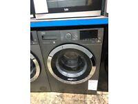 Beko graphite 9kg 1400spin Aquatech washing machine. £329. new/graded. 12 month guarantee
