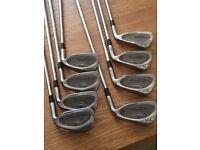 Gem-Cut Golf Clubs, 3,5,6,7,8,9,P,S irons