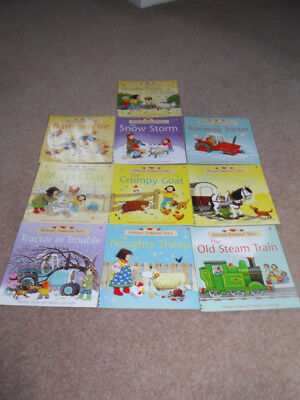 Usborne Farmyard Tales Story Collection.10 Book Set
