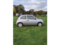 Nissan Micra 2005 1.0L petrol Silver