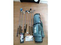 Golf set.... bag, 12 clubs plus