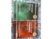 CGP Revision guides A levels biology and chemistry