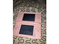 Pink Nintendo DS Lite (Discontinued in shops)