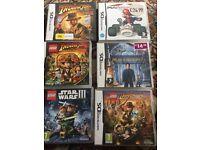 6x Nintendo DS games