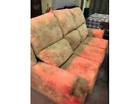 3 seater and 2 seater bedsettee