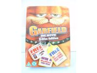 Garfield The Movie 2 Disc Ed' DVD Plus Ltd Ed Activity Pencil Tin NEW & SEALED