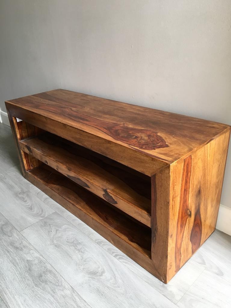 Mango Wood Tv Table £50