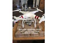 DJI PHANTOM 3 STANDARD QUADCOPTER DRONE with RANGE EXTENDER & EXTRAS!! - BARGAIN!!!
