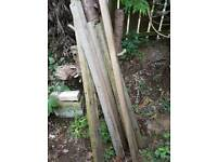 Spare timber posts
