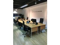 7 desks in professional office share in N1