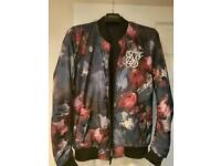 Sik Silk Reversible Bomber Jacket *New with tags*
