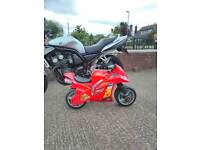 Motorcycle for a tenner