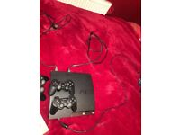 PLAYSTATION 3 + 3 pads + 7 Games