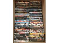 113 used DVDS plus boxsets