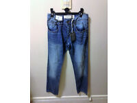 Mens size 30L straight blue denim jeans from New Look - BRAND NEW WITH TAGS STILL ON!!!!