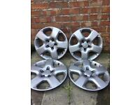 """Vauxhall 16"""" wheel trims,all 4 in mint condition."""