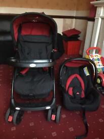 Obaby travel system nice and clean condition