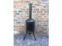 Outdoor woodburner